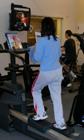 exercise while reading magazine: