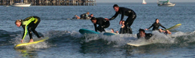 four surfing students oct 2003: