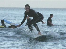 girl four surf oct 2003: