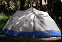 good tent no rainfly: