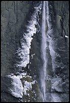 ice on Yosemite Fall QTL: