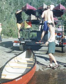help loading kayaks: