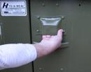 open bear box latch: