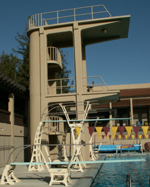 platforms and diving boards: