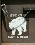 save a bear use the clip: