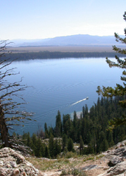 shuttle boat from Inspiration Point: