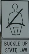 sign buckle up state law: sign buckle up state law