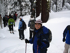 snowshoe walk 2008 photot by Richard Neimrec:
