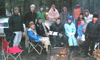 snow camp 2009 group 120 pixels: snow camp 2009 group photo by campfire