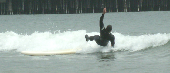 spring 2006 flying off the surfboard: