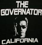 student t shirt governator: