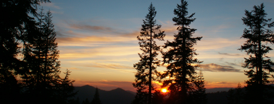 sunset high sierra camp june 2007: