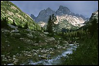 terragalleria tetons Cascade creek afternoon storm: