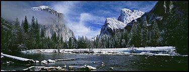 terragalleria yosemite valley winter: