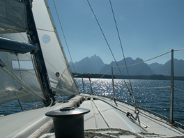 teton range from sailboat 2007:
