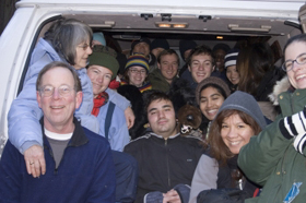 too many people in a carpool winter camp 2006: