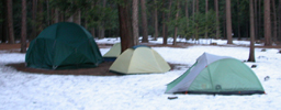 upper river campground winter 2005: