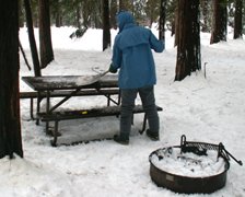 yosemite snow camp 2008 clear snow table: