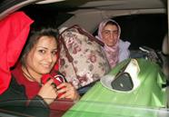 yosemite winter 2007 crowded backseat: