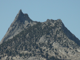 Cathedral Peak from Lembert Dome: