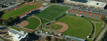 De Anza college track soccer feild diamonds: