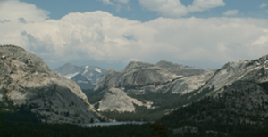 Tenaya and domes from Olmstead Point: