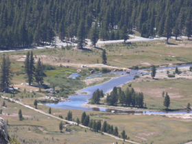 Tuolumne Meadows closeup from LD: