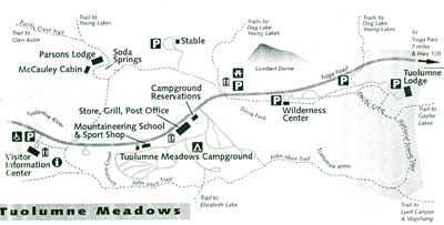 Tuolumne Meadows map 400 pxls  sc 1 st  Mary Donahue : tuolumne meadows tent cabins - afamca.org
