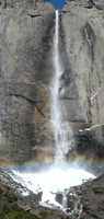 Upper Yosemite Fall Feb 5 2005: