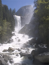 Vernal Fall May 22 2005 NPS photo: