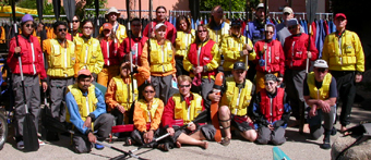 kayak group photo one May 2005: