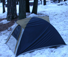 not a good winter tent: