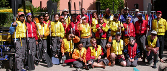 ocean kayak group photo two May 2005: