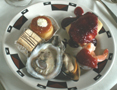 plate at Ahwahnee brunch 2008:
