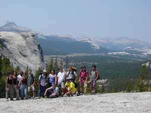 group photo 2002 on Lembert Dome: