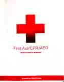 first aid text cover Red Cross 2016