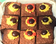 solar eclipse brownies