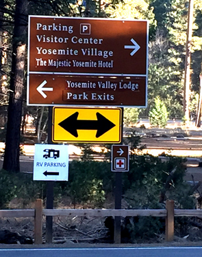 signs with directional arrows