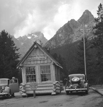 photo of entrance station