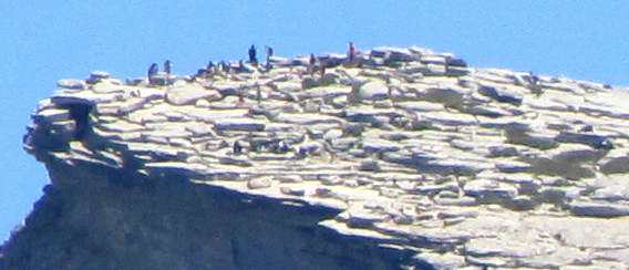 Granite dome with people standing on top