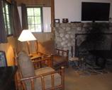 Yosemite cabin 819 living room