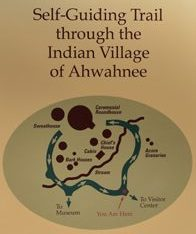 Yosemite Indian Village self guiding trail map