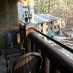 small covered balcony