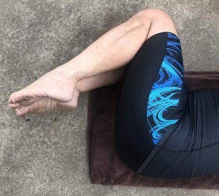 legs bent the wrong way