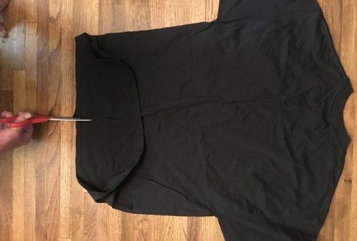 tshirt flat on floor