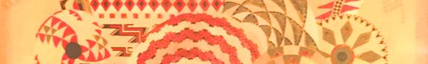 basket design wall mural