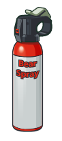 can says bear spray