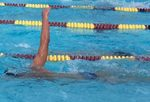 swimmer with straight arm