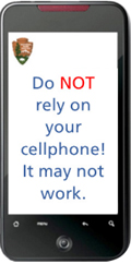 cell phone shape says do not reply on your cell phone