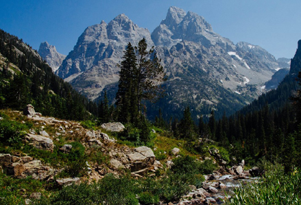 peaks and trail